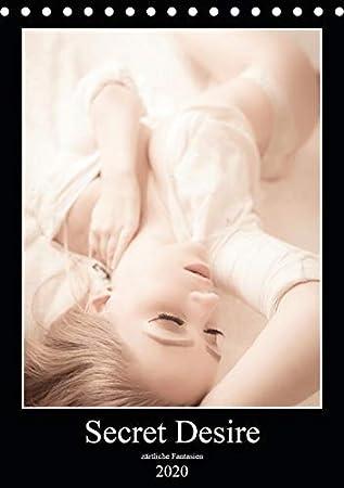 Sensual Desire - zärtliche Fantasien (Tischkalender 2020 DIN A5 hoch): 13 sinnlich zarte Motive im Sensual-Style. (Monatskale