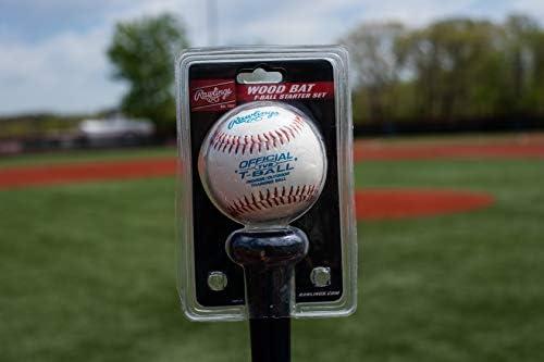 25-Inch//25-Ounce Unisex Rawlings Sporting Goods Rawlings T-Ball Bat//Ball Combo
