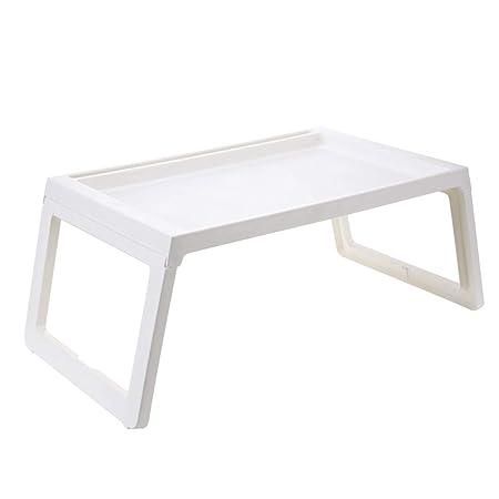 mesa plegable LITING Cama portátil Ordenador portátil Mesa pequeña ...