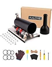 HALOViE Glass Cutter Tool Round Bottle Cutting Machine DIY Kit for Cutting Wine Beer Whiskey Alcohol Champagne Bottle