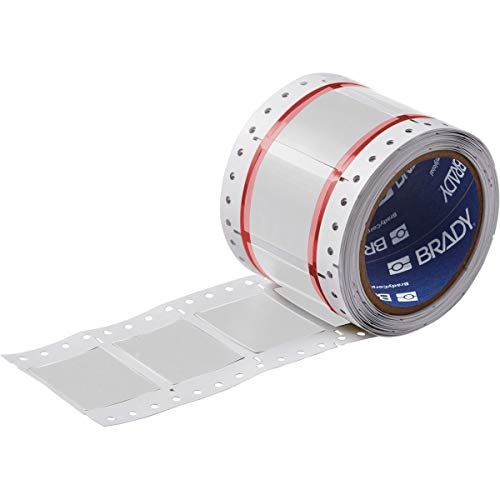 Brady HX1500150WTS PermaSleeve Wire Marking Sleeves 0252 Height 1496 Width Polyolefin B7642 White Roll of 100