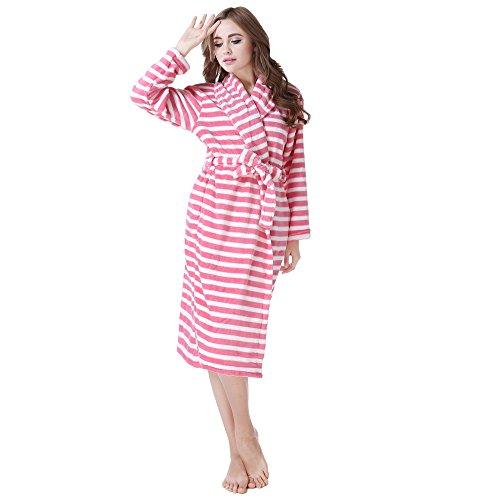 Soft Adorable Plush (Richie House Women's Plush Soft Warm Fleece Bathrobe RH1589-XL)