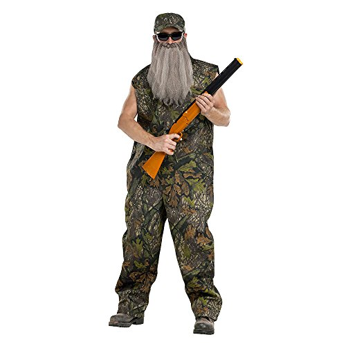 Duck Hunter Costumes (Adult Duck Dynasty Hunter Costume, One Size)