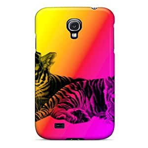 For Galaxy S4 Premium Tpu Case Cover Baby Tigers Protective Case