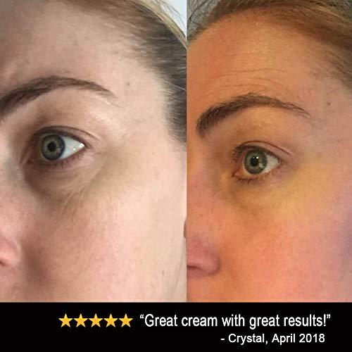 41FPxyCyMXL - Eye Cream Moisturizer (1.7oz) 94% Natural Anti Aging Skin Care