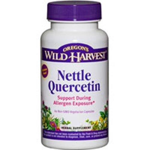 Oregon's Wild Harvest Nettle Quercetin, 60 vcaps (Pack of 2)