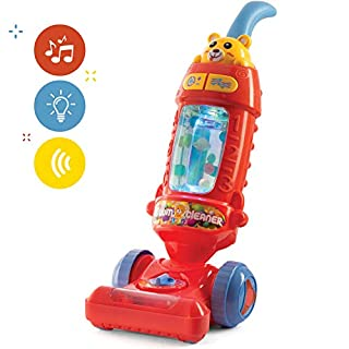Play22 Kids Vacuum Cleaner Toy for Toddler with Lights & Sounds Effects & Ball-Popping Action - Pretend Play Toy Vacuum Cleaner for Toddler Best Gift for Boys and Girls, No Suction! Original