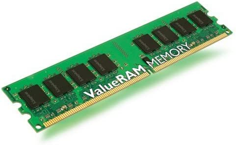 Kingston - Memoria RAM 2 GB (PC800, DDR2, CL5)