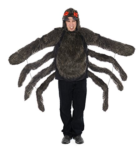 Princess Paradise Men's Adult Tarantula Hoodie, Black, Large/X-Large for $<!--$57.79-->