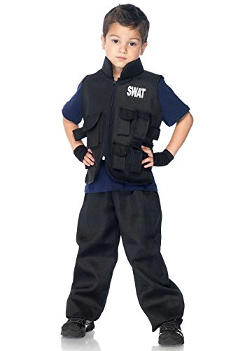 [Leg Avenue Children's SWAT Commander Costume] (Swat Costumes Kid)