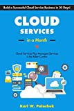 img - for Cloud Services in a Month: Build a Successful Cloud Service Business in 30 Days book / textbook / text book