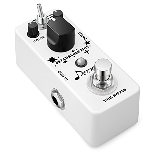 Effect 9 Delay Pedal Analog (Donner Jet Convolution Flanger Classical Analog Rolling Guitar Effect Pedal 2 Modes)