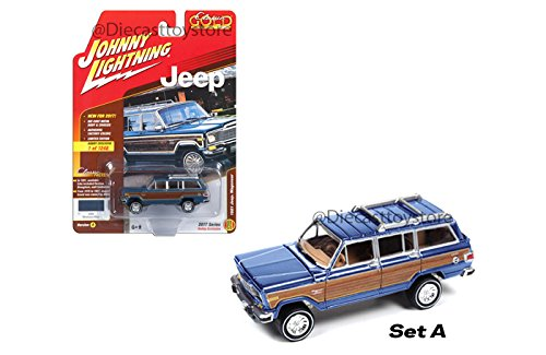 1:64 CLASSIC GOLD - 1981 JEEP WAGONEER (HOBBY EXCLUSIVE) JLCG006-24A DIECAST BY JOHNNY LIGHTNING - Jeep Wagoneer Toy