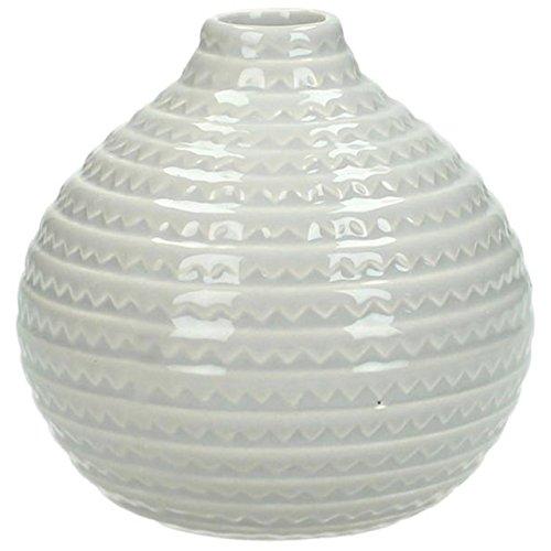 KERSTEN · Keramik-Vase 10cm · hellgrau