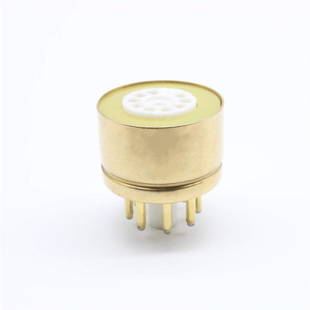 1Pcs EL84 6BQ5 6P14 to 6V6 Vacuum Tube Amplifier Convert Socket Adapter