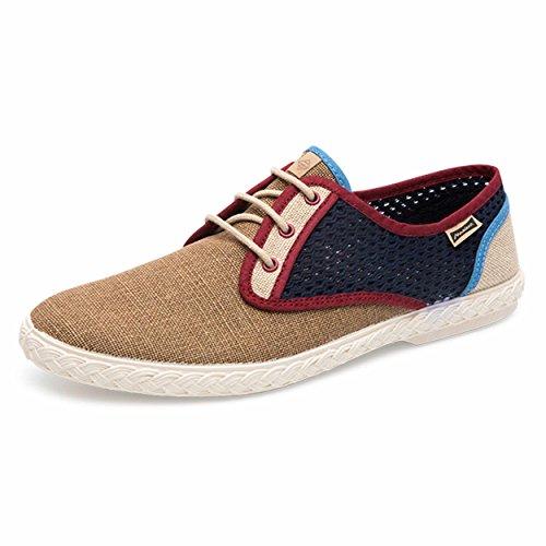 Maianas Zapato SISTO Rejilla Combinado (42 EU, Camel)