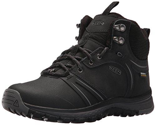 Image of KEEN Women's Terradora wintershell-w Hiking Shoe, Black/Magnet, 10.5 M US