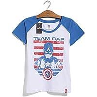 Camiseta Feminina Marvel Team Captain