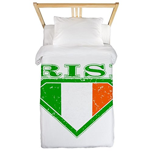 (Twin Duvet Cover Irish Superman Crest Luck of Irish )