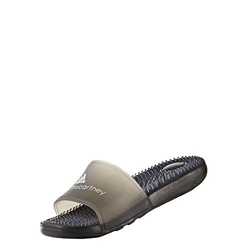 adidas by Stella McCartney Women's Recovery Slides, Core Black/FTWR White, 8 B(M) US
