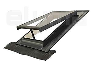 Claraboya ventana para tejado basic vasistas apertura - Tragaluces para tejados ...