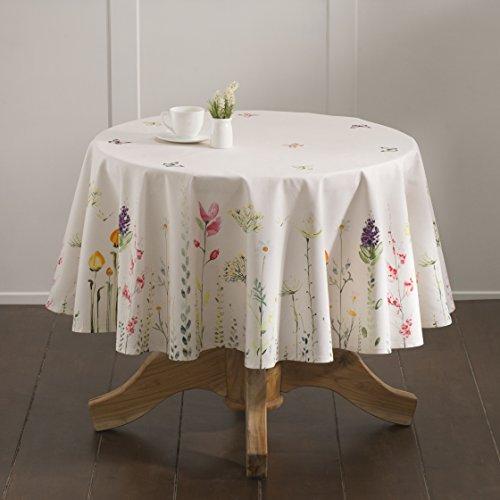Maison d' Hermine Botanical Fresh 100% Cotton Tablecloth 69 Inch Round