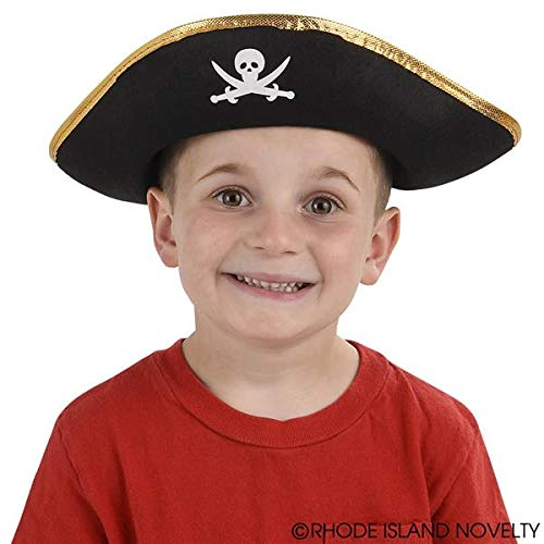 Rhode Island Novelty Child Sized Felt Pirate Hat | One Per Order - coolthings.us