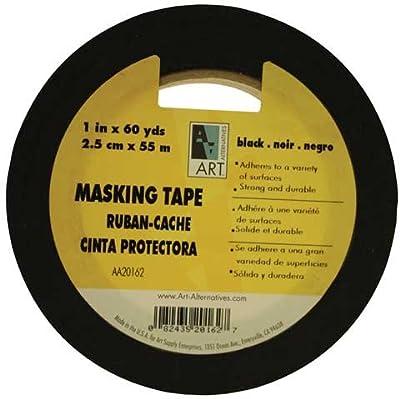 "Art Alternatives Acid-Free Black Masking Tape - 1/2""x60 Yards"