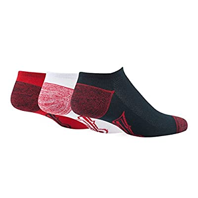 MLB mens Blade '47 Motion No-Show Socks, 3-Pack