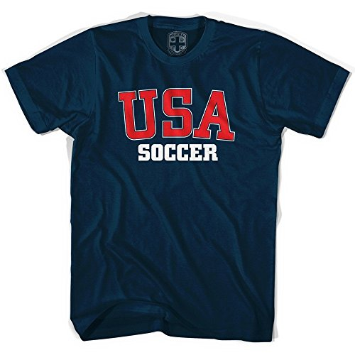 USA Soccer T-shirt, Navy, - Soccer Tshirts For Men