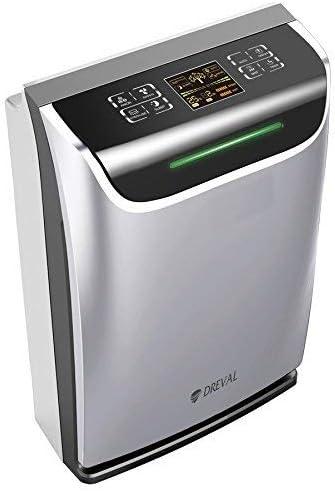 DREVAL Todo en Uno HEPA purificador de Aire ionizador ...