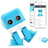 RC Robot,KINGBOT F9 Intelligent Entertainment Electronic Robot with APP Programming Audio and LED