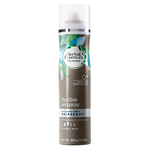 Alcohol Spray Hair Free - Herbal Essences Bio-Renew Flexible Airspray Alcohol-Free Hairspray, 7.0 Fl Oz