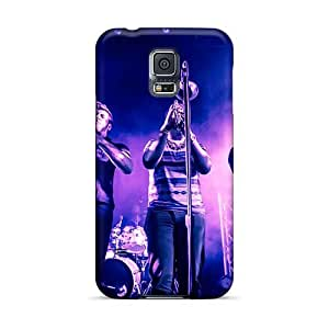 Shock Absorption Hard Cell-phone Case For Samsung Galaxy S5 With Customized Lifelike Breaking Benjamin Image DrawsBriscoe