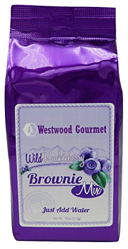 Price comparison product image Westwood Gourmet Brownie Mix,  18 oz (Wild Huckleberry)