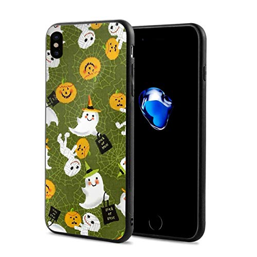 Trick Or Treat Holidays Halloween X Phone Case Compatible with iPhone X/Xs Environmentally Friendly PC Materials 2.9 X 5.8 -