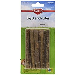 Superpet (Pets International) SSR61198 10-Pack Ka-Bob Small Animal Fruitwood Big Branch Bites Sticks Treat