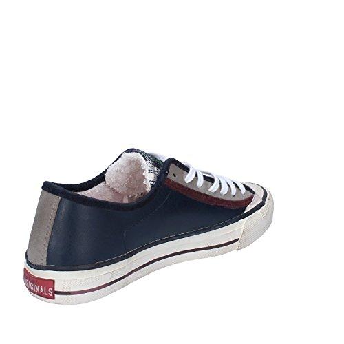 Pelle a Sneaker Donna Blu t D e date Y1qd1Uw