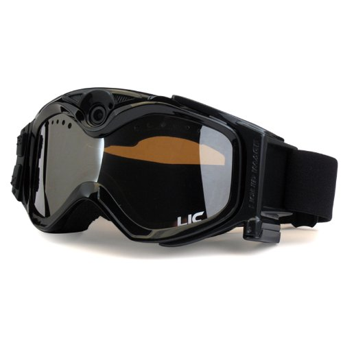 The Liquid Image XSC Summit Series 335BLK HD Snow Goggle with Integrated True POV HD Video Camera with 1.5x Optical Zoom and 1-Inch LCD Screen – Black, Outdoor Stuffs
