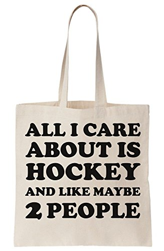 People I Is All Canvas 2 About Bag Maybe Like Care Tote And Hockey UzwqZw