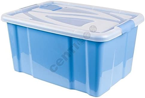 Caja Multi Box apilables Box – Caja de almacenaje con tapa XXL 55 ...