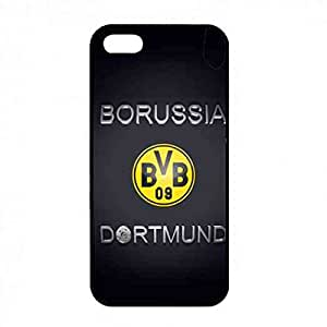 Goddardcase Borussia Dortmund Football Club Logo For iPhone 5/ iPhone 5s Bvb36 German Bunds Liga Fc Printed Black Back Design