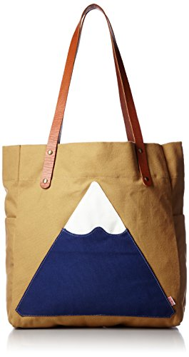 Poler Men's Mountain Tote, Almond Forestry, One Size by Poler