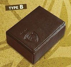 WCCF Campaign Eighth Installment / Deck Case / Leather Specification (Brown) by SEGA