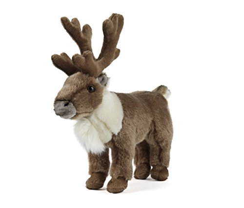 Standing Reindeer Soft Toy Animal