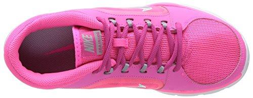 Nike Wmns Flex Trainer 4 - Zapatillas Para El Gimnasio  para hombre Rosa (Pink Pow / Wolf Grey-Ht Pink-Wht)