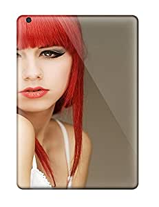 Robert Minor Scratch-free Phone Case For Ipad Air- Retail Packaging - Red Haired Girl Women Model People Women