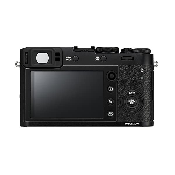 """RetinaPix Fujifilm X100F 24.3 MP Mirrorless Camera with Fixed f23 mm F2 Lens (APS-C X-Trans CMOS III Sensor, Hybrid Viewfinder, 3"""" LCD Screen, Phase Detection AF, Film Simulation Modes & Filters) - Black"""