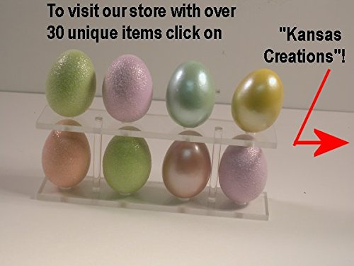 Egg Collection Display Rack (Clear) (Rack Kayak Show Boat)