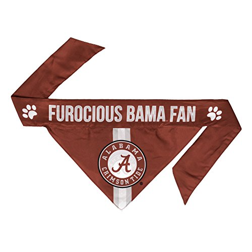 NCAA Alabama Crimson Tide Pet Bandanna, Medium